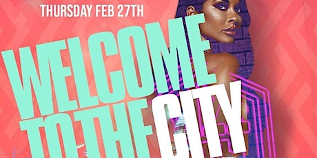 WELCOME TO THE CITY CELEBRITY TOURNAMENT KICKOFF PARTY tickets