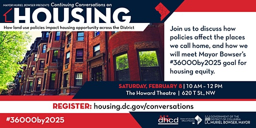 Continuing Conversations on Housing