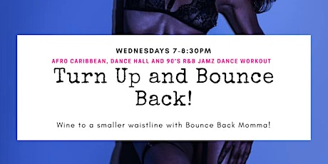 Turn up and bounce back! tickets