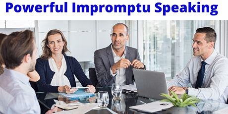 Powerful Impromptu Speaking - Rhetoric Training tickets