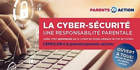 Atelier Parents-Action : La cyber-sécurité tickets