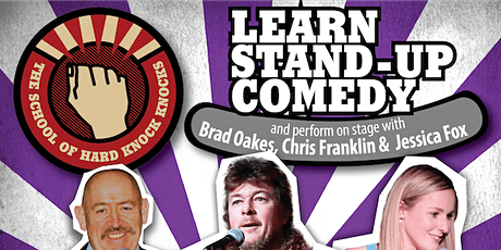 Learn stand-up comedy in Melbourne this February with Chris Franklin bilhetes