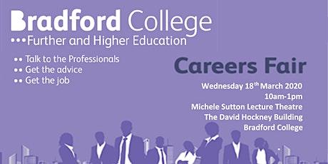 Bradford College Careers Fair 2020 tickets