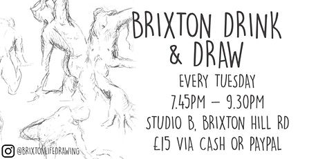 Brixton Life Drawing & Drink tickets