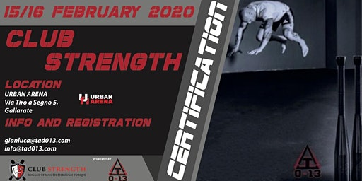 Club Strength Certification