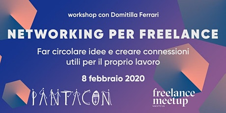 Networking per freelance - Workshop biglietti