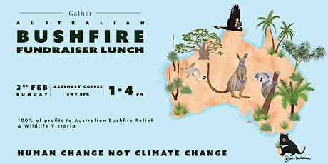 Bushfire Relief Fundraiser Lunch tickets