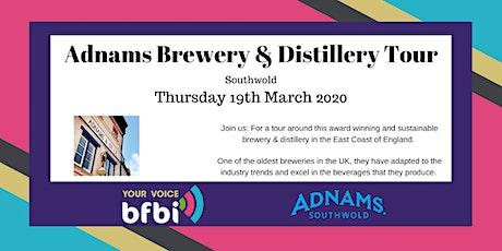 BFBi Adnams Brewery & Distillery Tour tickets
