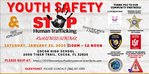 Youth Safety and Human Trafficking Seminar