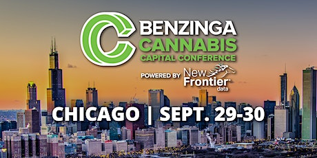 Chicago Benzinga Cannabis Capital Conference tickets