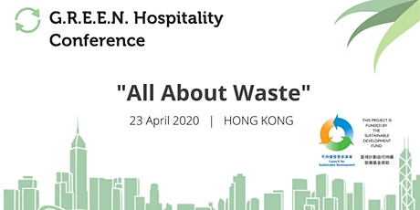 GREEN Hospitality Conference 2020 - All About Waste tickets