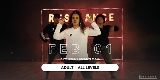 02/01 Urban Dance Class | Adult - All Levels | By RESIDANCE