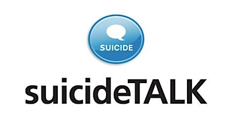 SuicideTALK - Suicide Awareness Session tickets