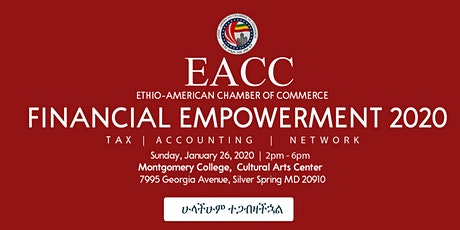 EACC FINANCIAL EMPOWERMENT 2020 tickets