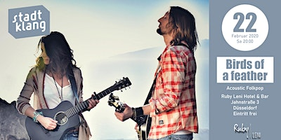 «stadtklang» mit Birds of feather / live im Ruby