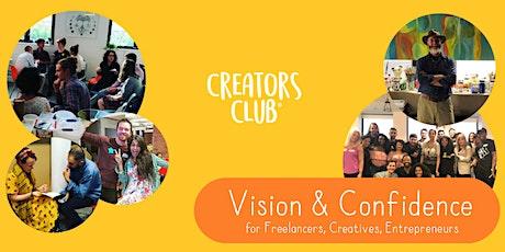 London Creators Club | JANUARY FOCUS: Vision & Confidence tickets