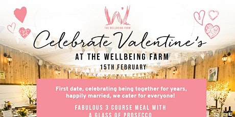 Celebrate Valentines at The Wellbeing Farm tickets