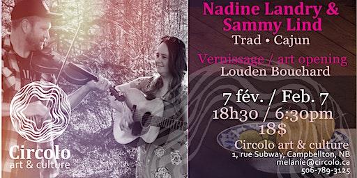 Nadine Landry & Sammy Lind  Trad - Cajun