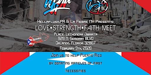 LOVE, STRENGTH AND FAITH MEET