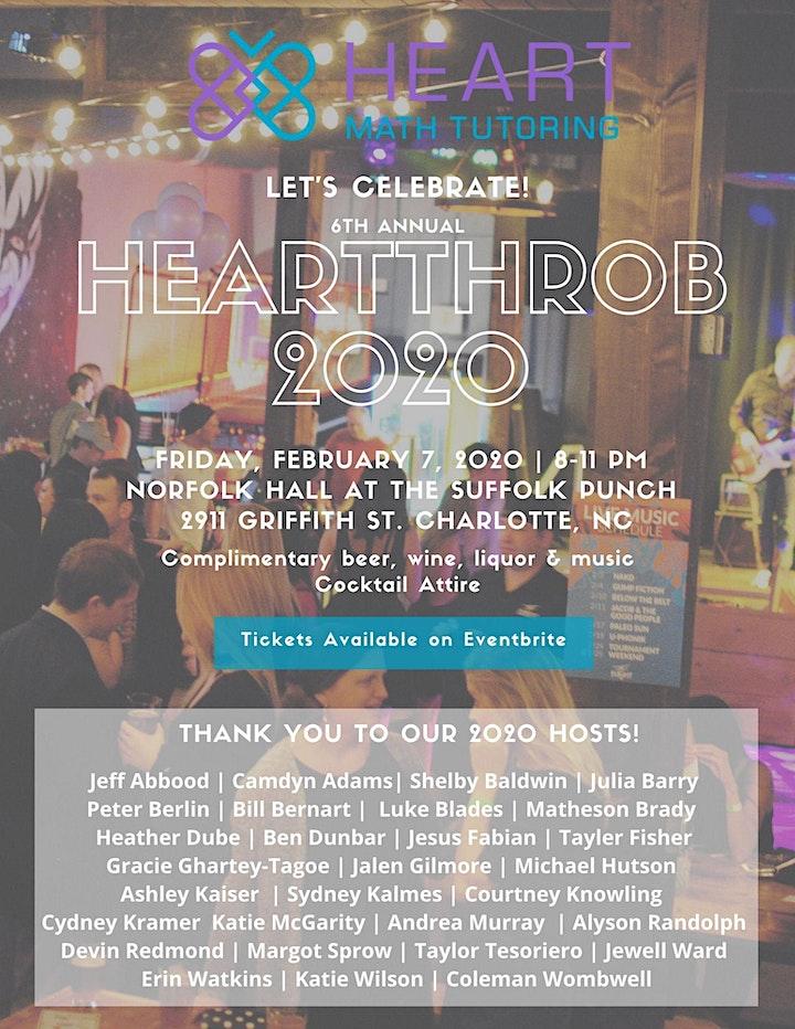6th Annual HeartThrob image