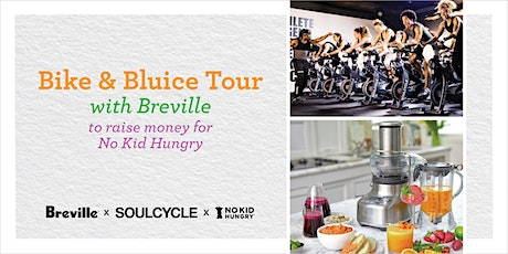 Bike and Bluice to Raise Money for No Kid Hungry tickets