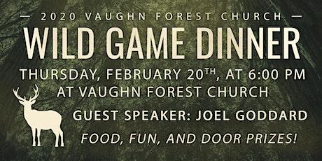 VFC Men's Wild Game Dinner 2020 tickets