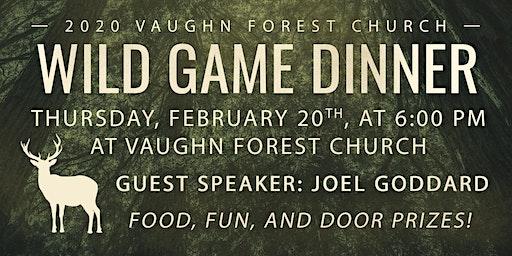VFC Men's Wild Game Dinner 2020
