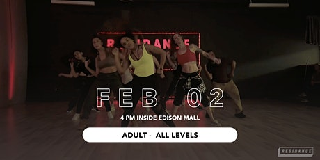 02/02 Urban Dance Class | Adult -All Levels | By RESIDANCE tickets