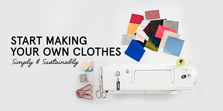 Beginners Sewing Class: Introduction to Fabrics & the Machine tickets