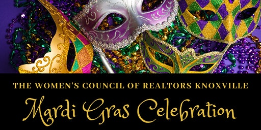 Women's Council of REALTORS Knoxville Mardi Gras Celebration