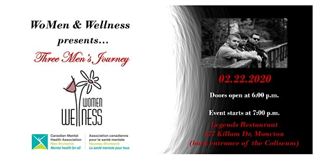 "Women & Wellness 2020 - ""Three Men's Journey"" tickets"