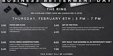 Business Betterment Day tickets