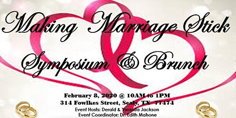 Making Marriage Stick Symposium & Brunch tickets
