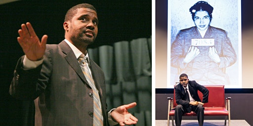 TIRED SOULS: THE MONTGOMERY BUS BOYCOTT performed by Mike Wiley