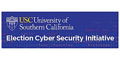 USC Election Cybersecurity Initiative - Maryland Training tickets