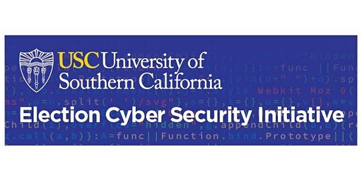 USC Election Cybersecurity Initiative - Maryland Training