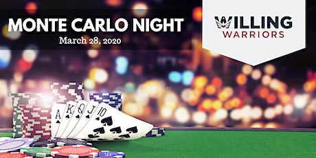 Monte Carlo Night - Warrior Retreat at Bull Run tickets