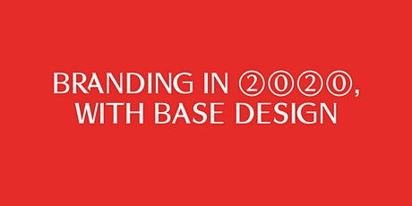MAD Talk - Branding in 2020, with Base Design tickets