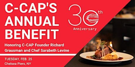 30th Anniversary C-CAP Benefit tickets