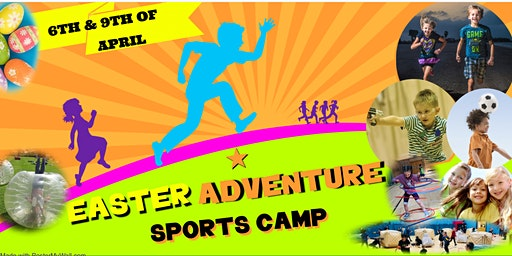 FORRES EASTER HOLIDAY ADVENTURE SPORTS CAMP SINGLE DAY TICKETS 6 OF APRIL & 9TH OF APRIL