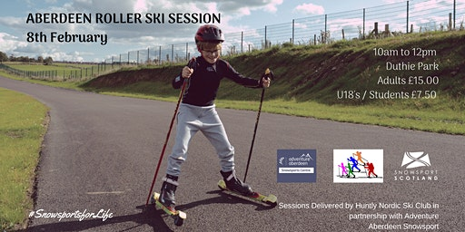Aberdeen Roller Ski Session - 8 Feb