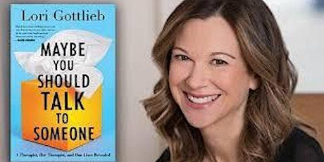 NYU SPS CALA Book Club: MAYBE YOU SHOULD TALK TO SOMEONE, Lori Gottlieb tickets