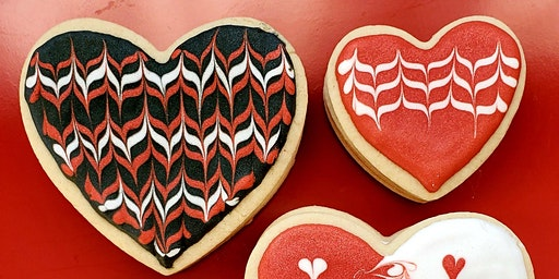 Valentine Royal Icing Cookie Class