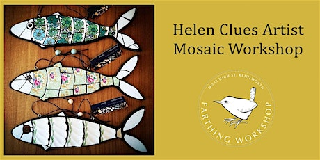 Mosaic with Helen Clues (Half Day) tickets