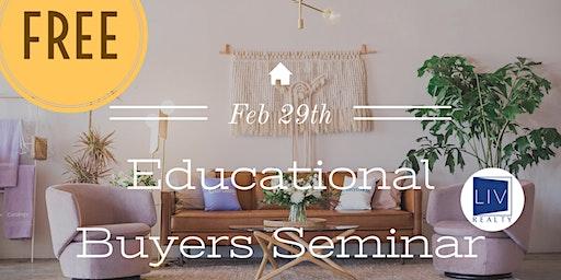 Free Educational Buyers Seminar