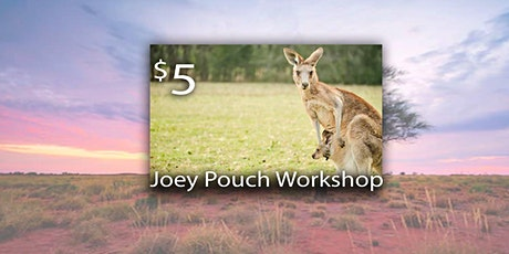 Make and donate Joey Pouches for Australia Supplies provided tickets