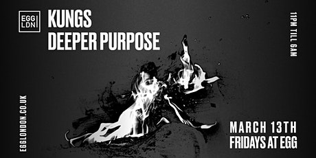 Fridays at EGG: Kungs & Deeper Purpose