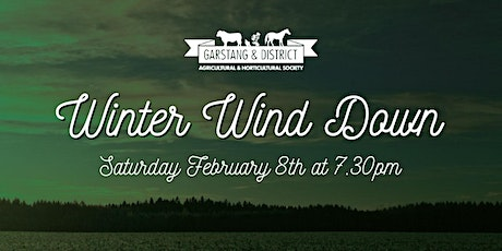 Garstang Show's Winter Wind Down tickets