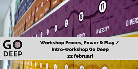 Intro-workshop Go Deep: Proces, Power & Play tickets
