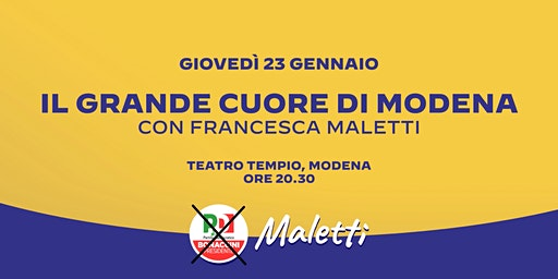 Il Grande Cuore di Modena